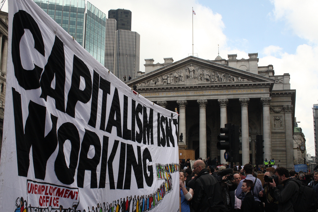 Do I write the word capitalism with a capital C or lower case c?